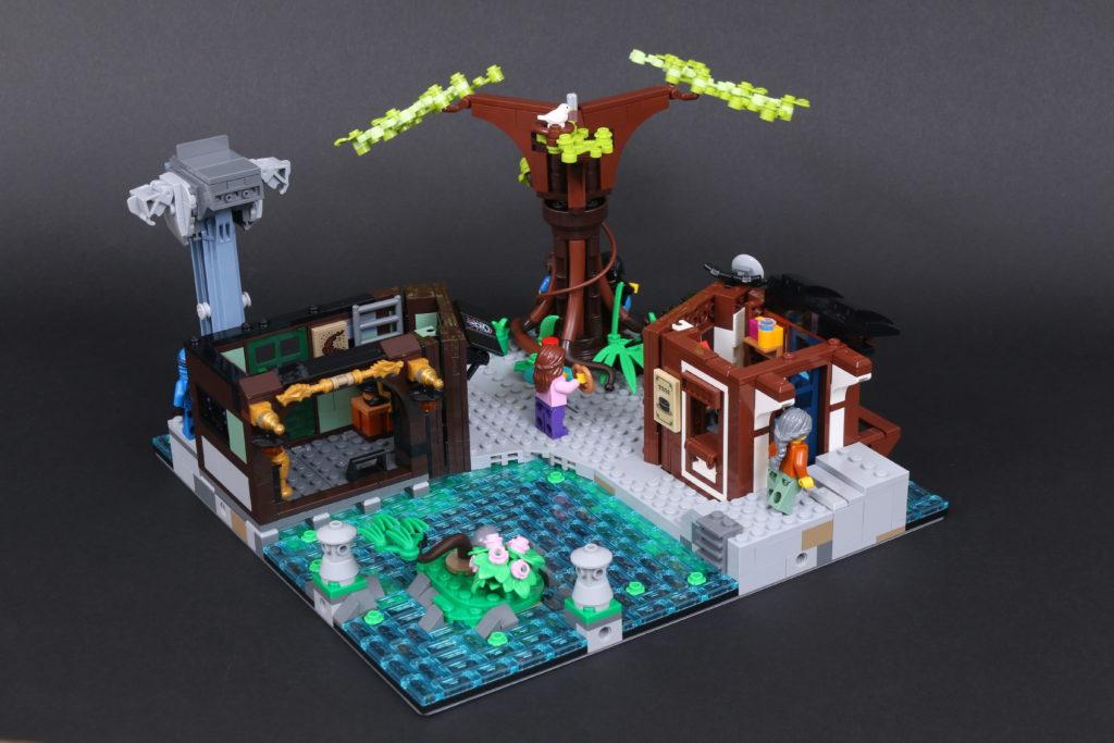 LEGO NINJAGO 71741 NINJAGO City Gardens review 48