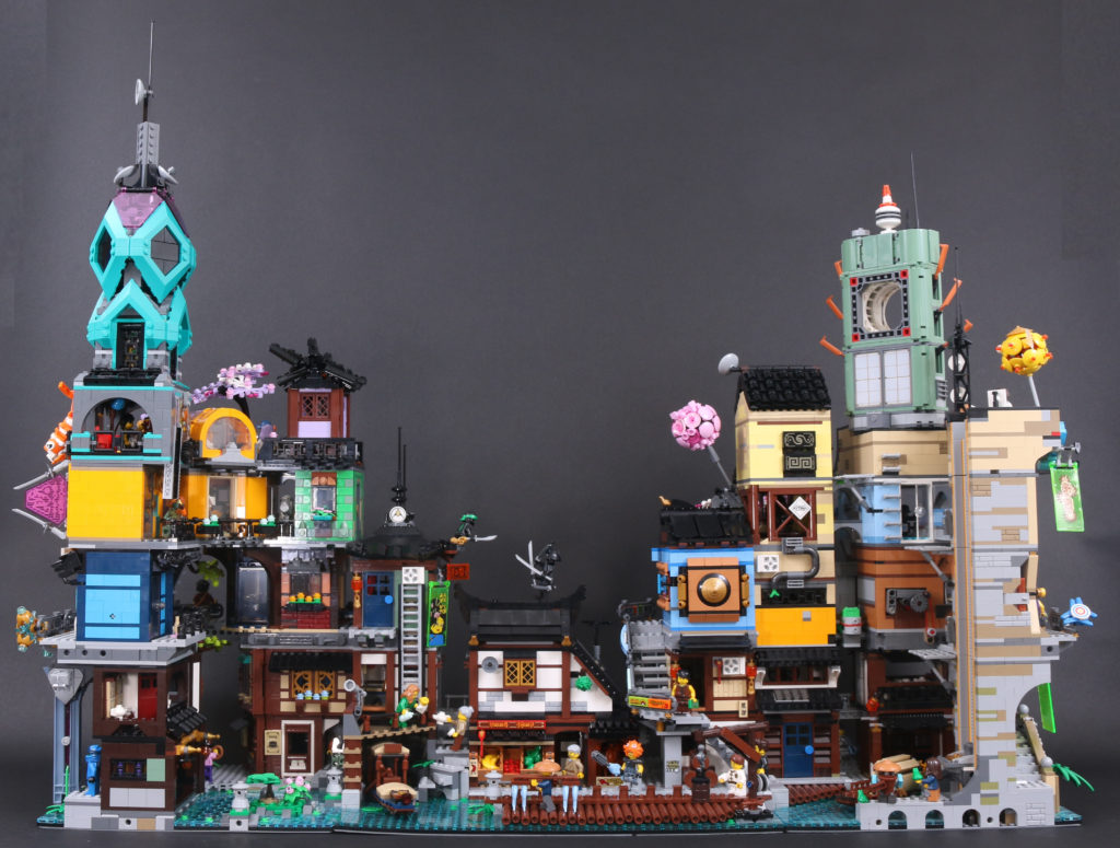 LEGO NINJAGO 71741 NINJAGO City Gardens review 5