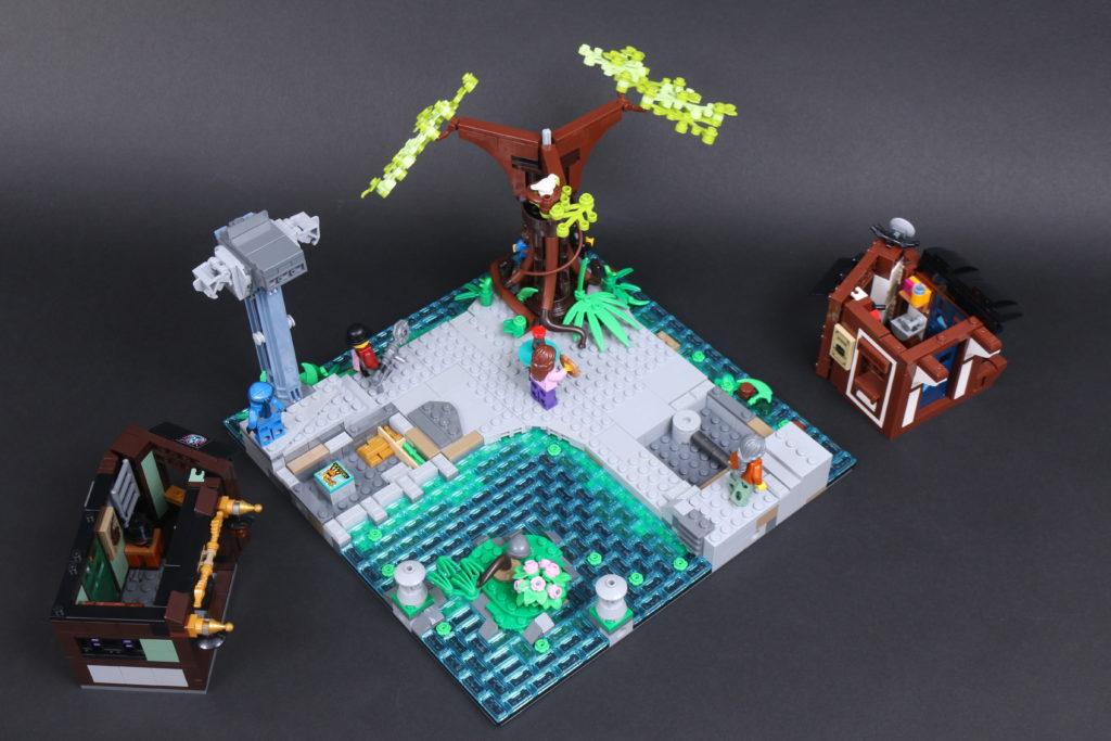 LEGO NINJAGO 71741 NINJAGO City Gardens review 52