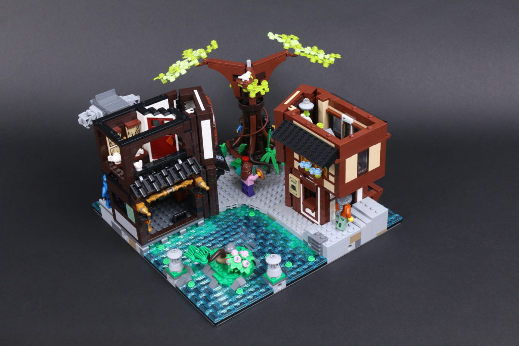 LEGO NINJAGO 71741 NINJAGO City Gardens Review 58