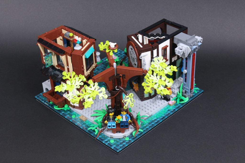 LEGO NINJAGO 71741 NINJAGO City Gardens Review 59