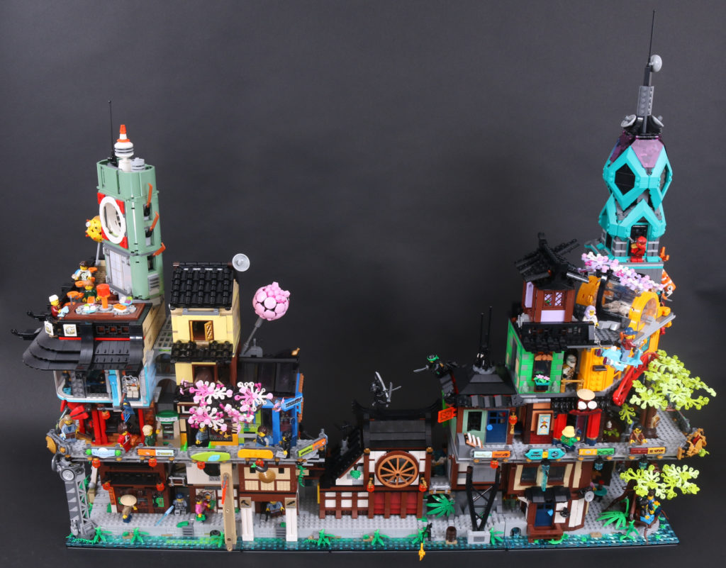 LEGO NINJAGO 71741 NINJAGO City Gardens Review 6