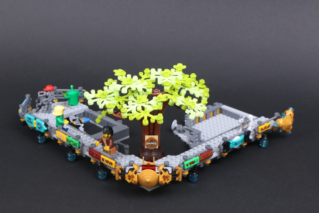 LEGO NINJAGO 71741 NINJAGO City Gardens Review 60