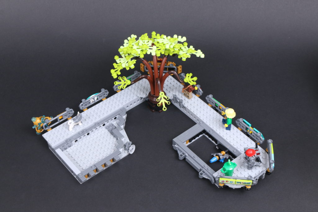 LEGO NINJAGO 71741 NINJAGO City Gardens Review 61