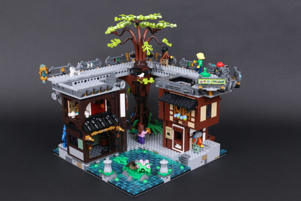 LEGO NINJAGO 71741 NINJAGO City Gardens Review 63