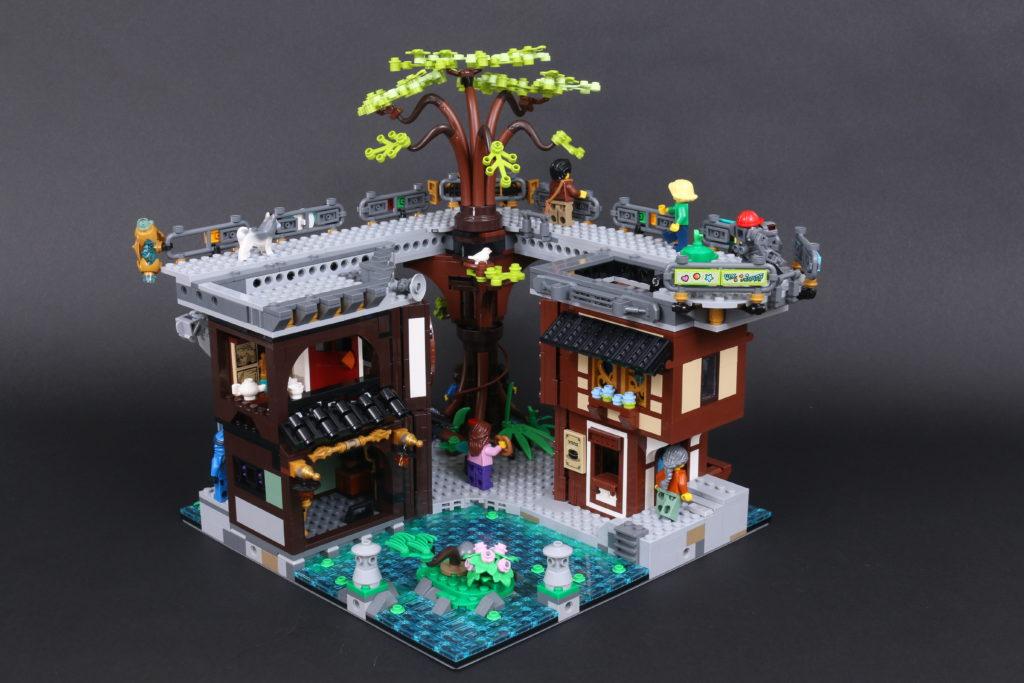 LEGO NINJAGO 71741 NINJAGO City Gardens review 63