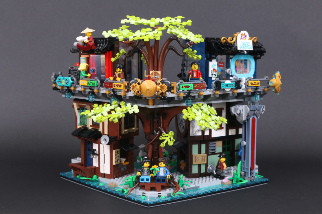 LEGO NINJAGO 71741 NINJAGO City Gardens Review 69