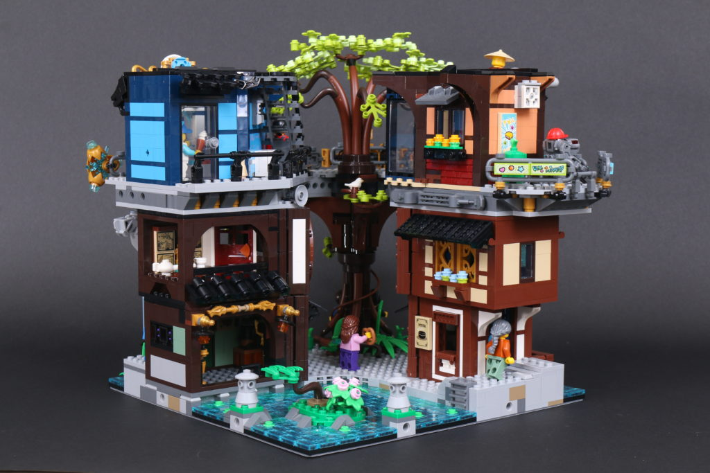 LEGO NINJAGO 71741 NINJAGO City Gardens Review 70