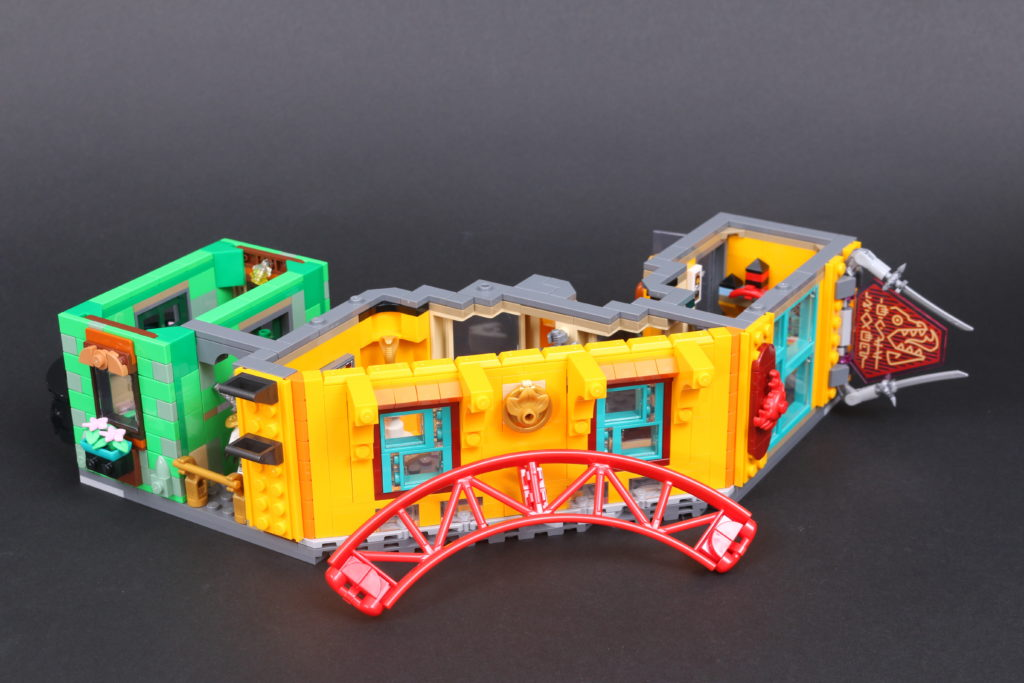 LEGO NINJAGO 71741 NINJAGO City Gardens review 71