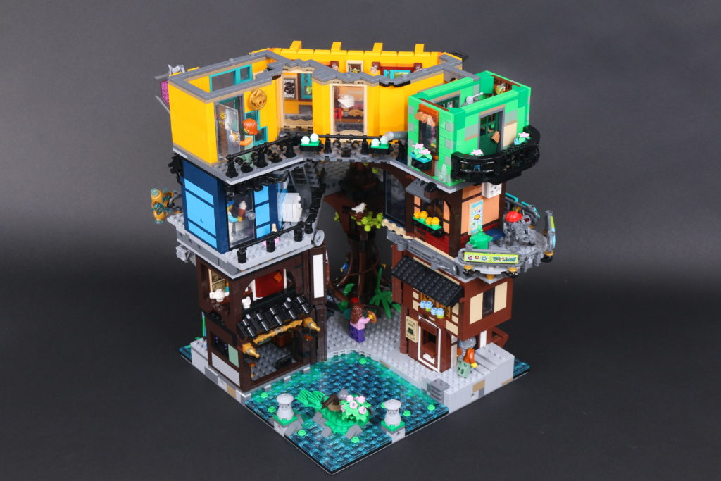 LEGO NINJAGO 71741 NINJAGO City Gardens Review 79