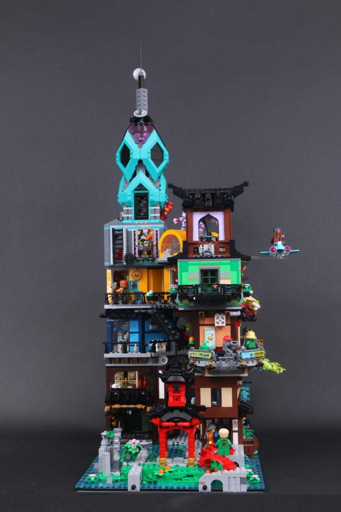 LEGO NINJAGO 71741 NINJAGO City Gardens review 8