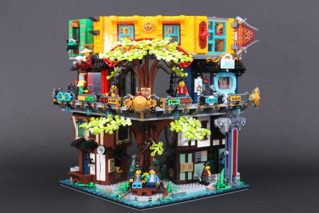 LEGO NINJAGO 71741 NINJAGO City Gardens Review 80