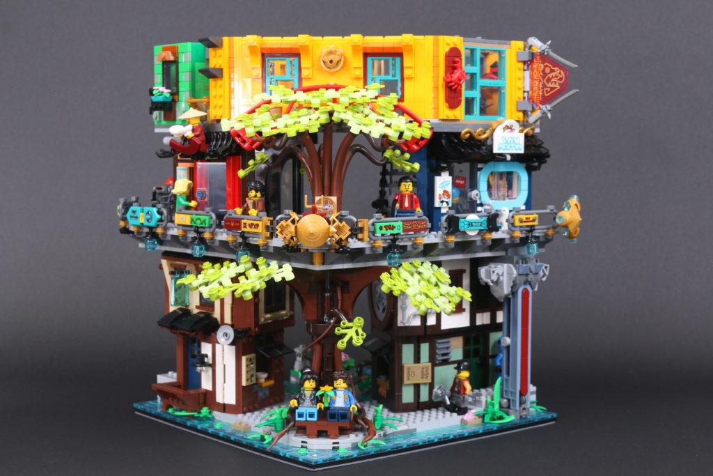 LEGO NINJAGO 71741 NINJAGO City Gardens review 80