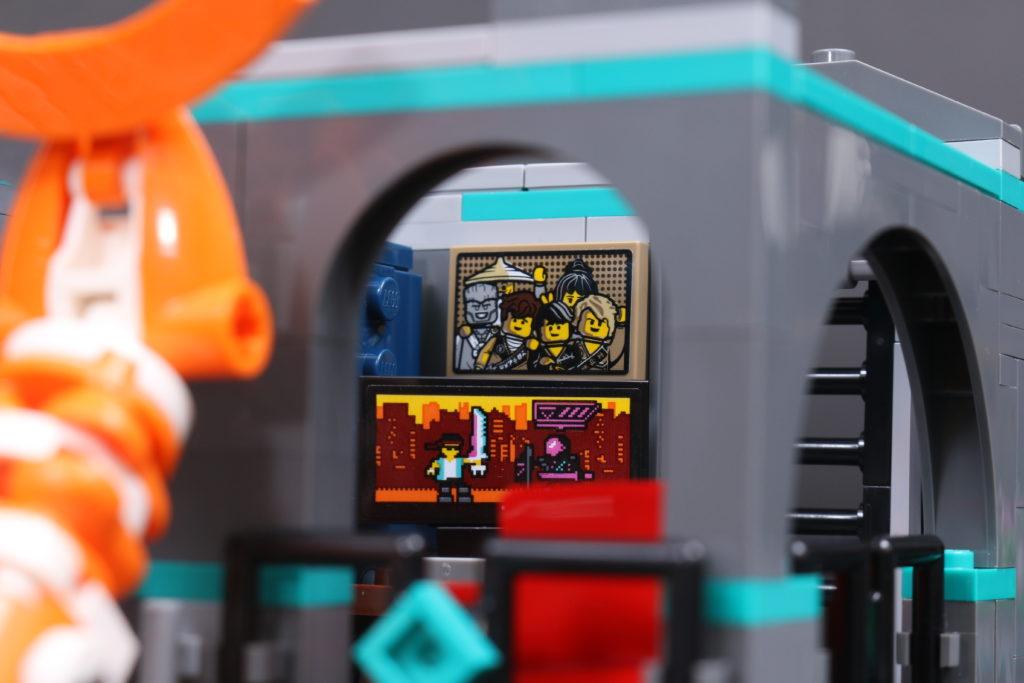 LEGO NINJAGO 71741 NINJAGO City Gardens review 85