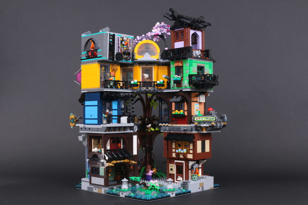 LEGO NINJAGO 71741 NINJAGO City Gardens Review 96