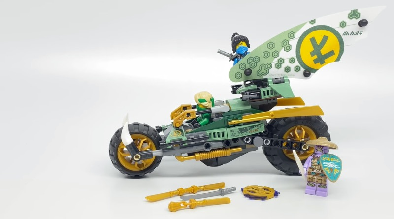 LEGO NINJAGO 71745 Lloyds Jungle Chopper Bike First Look Featured
