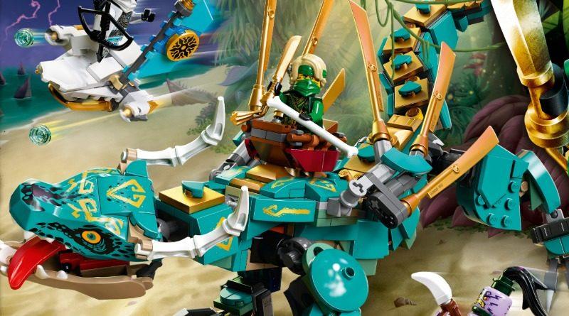 LEGO NINJAGO 71746 Jungle Dragon featured