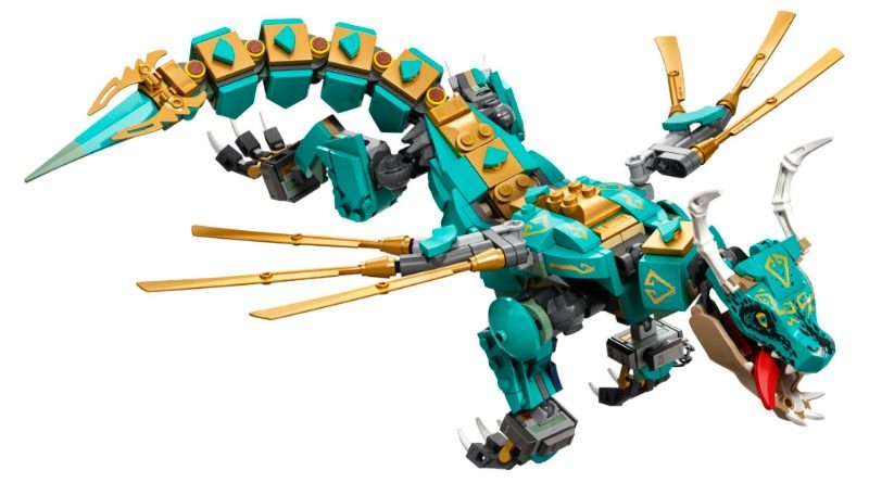 LEGO NINJAGO 71746 Jungle Dragon Featured 800x445