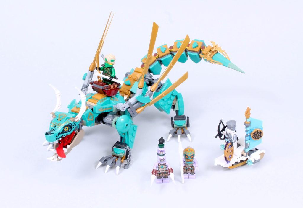 LEGO NINJAGO 71746 Jungle Dragon Review 1