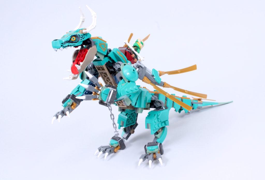LEGO NINJAGO 71746 Jungle Dragon Review 11