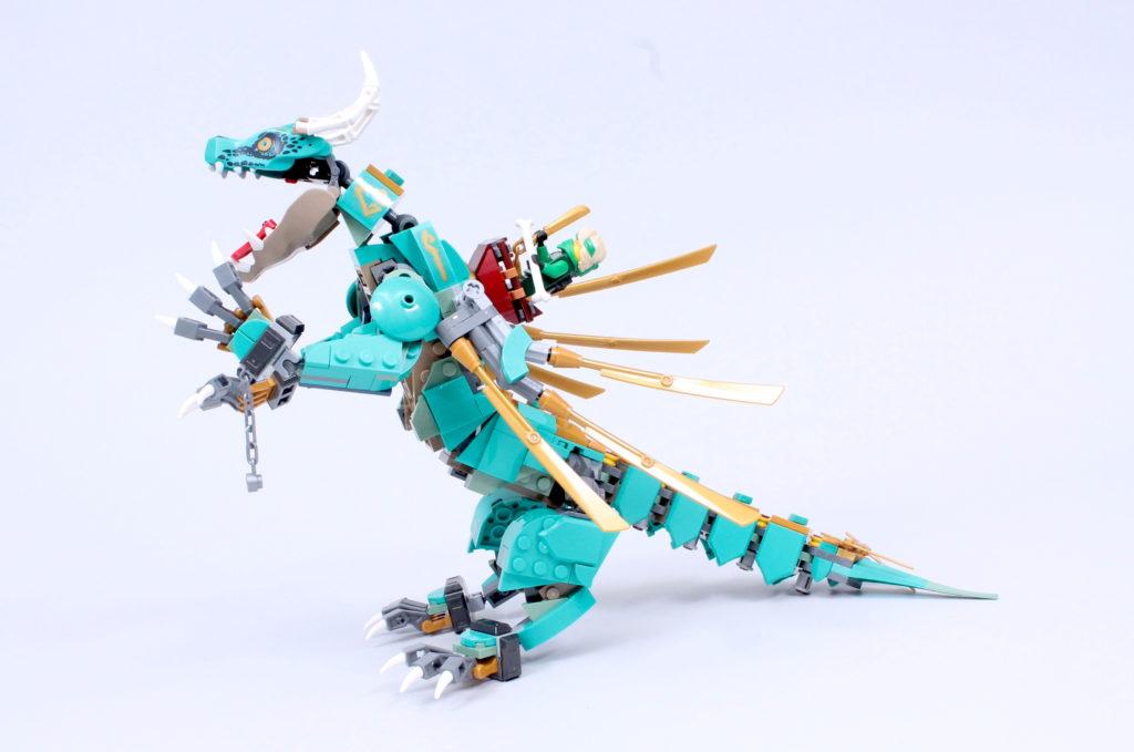 LEGO NINJAGO 71746 Jungle Dragon Review 12