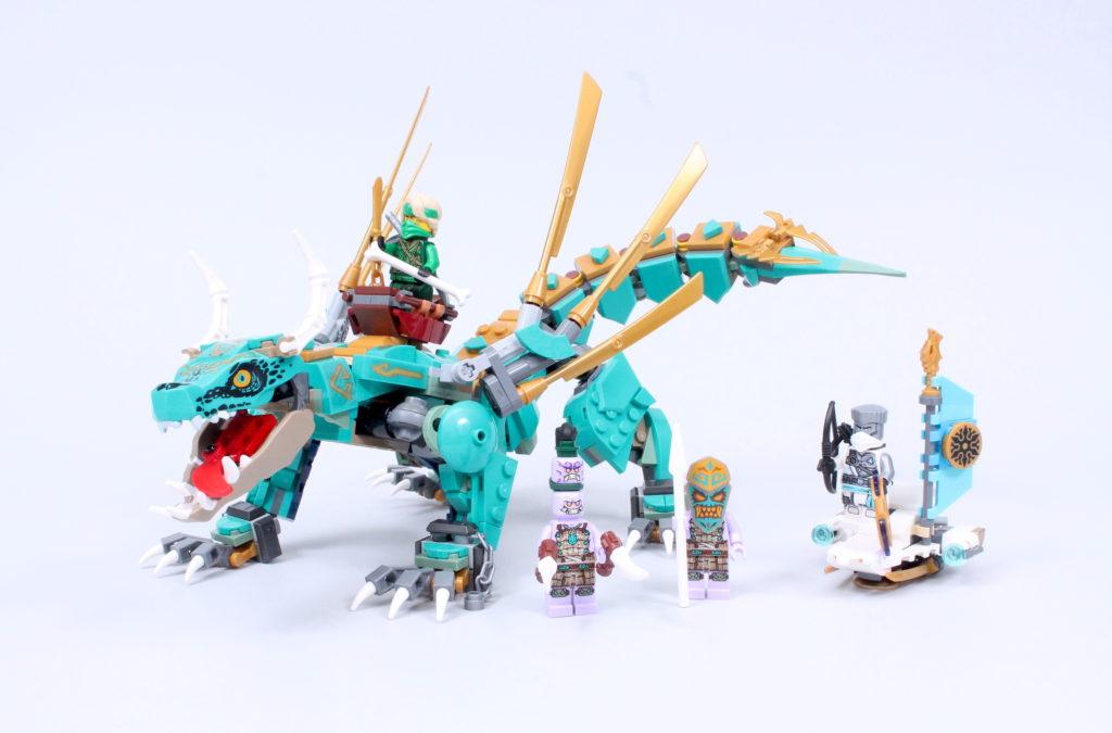 LEGO NINJAGO 71746 Jungle Dragon Review 2
