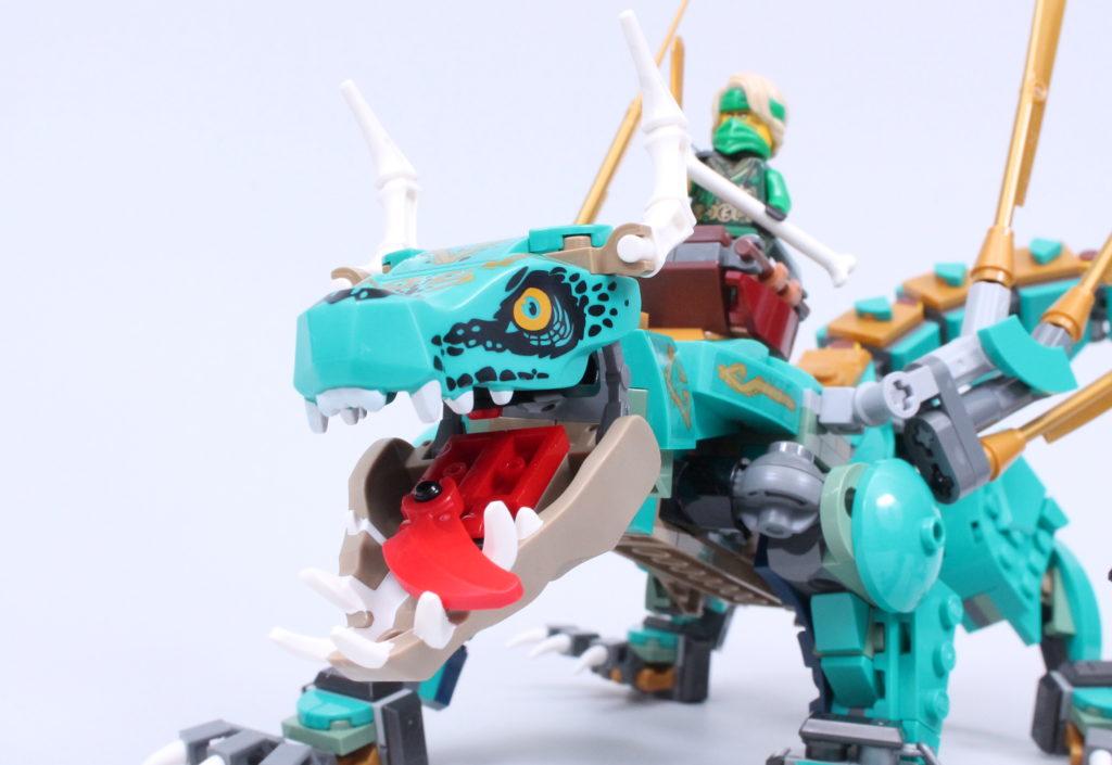 LEGO NINJAGO 71746 Jungle Dragon Review 3