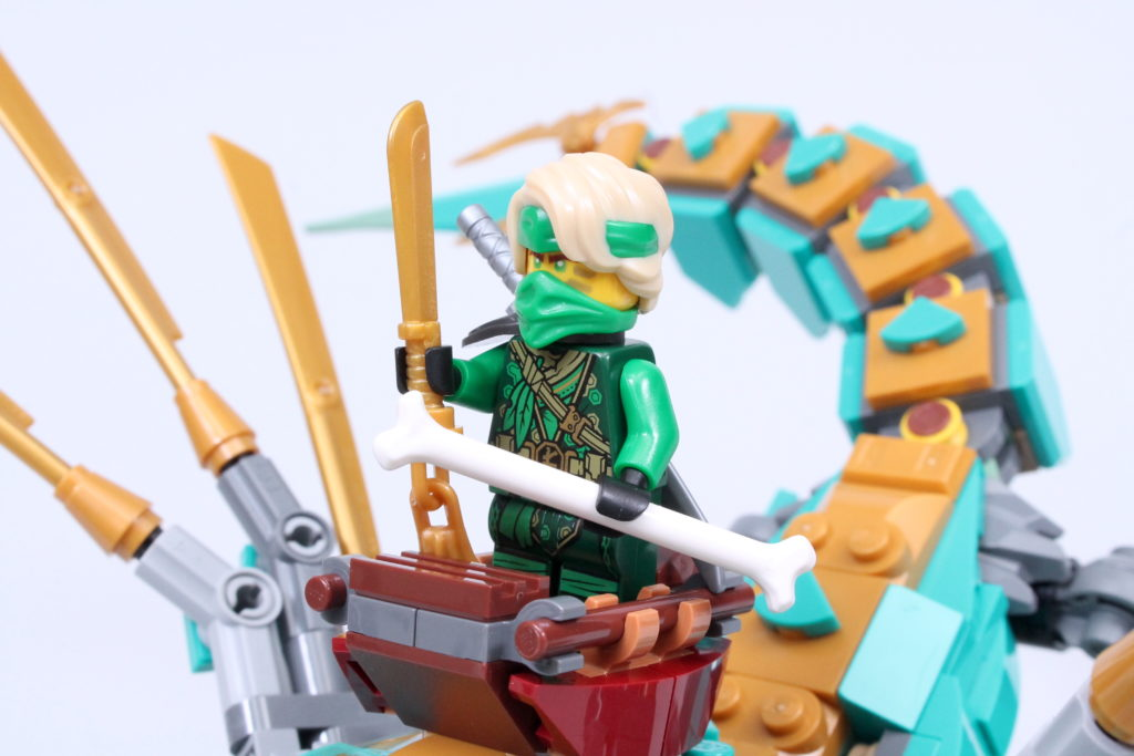 LEGO NINJAGO 71746 Jungle Dragon Review 4