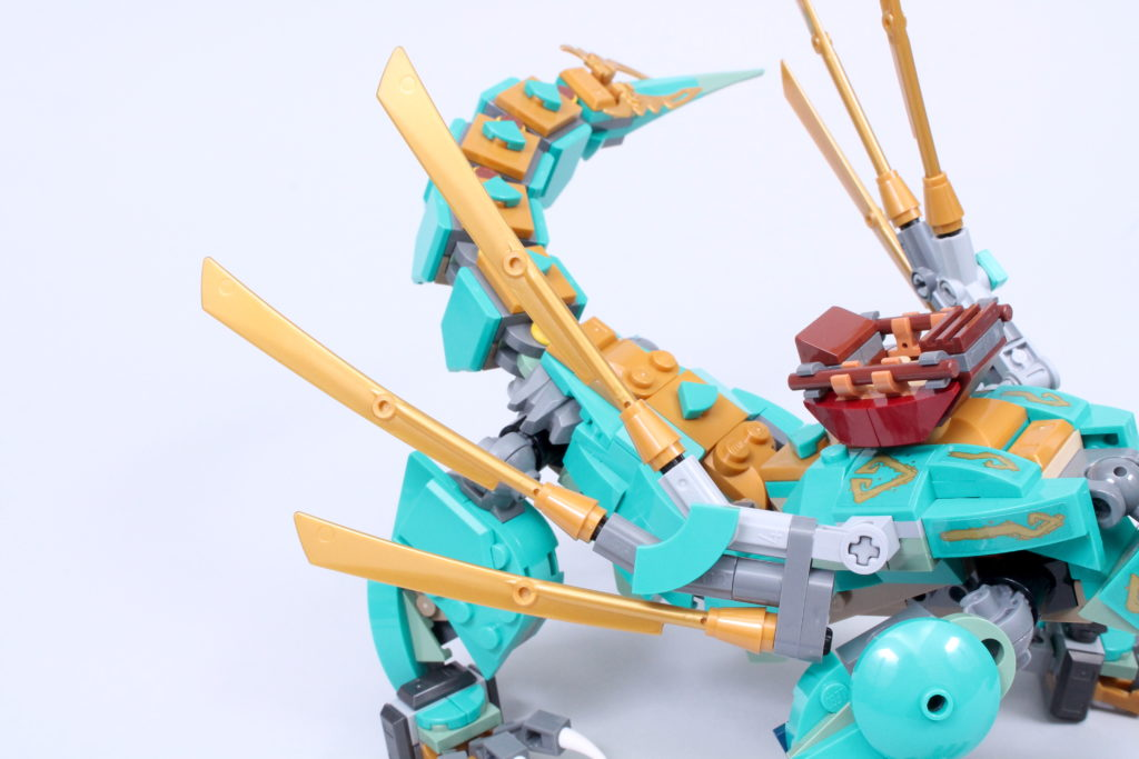 LEGO NINJAGO 71746 Jungle Dragon Review 6