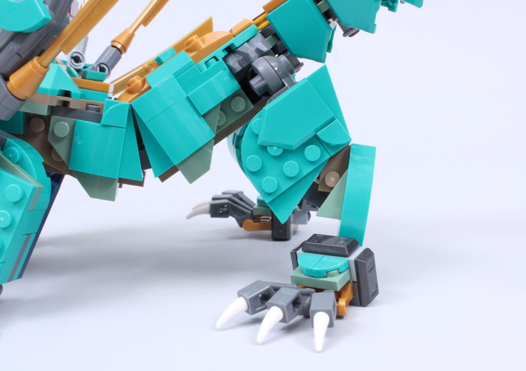 LEGO NINJAGO 71746 Jungle Dragon Review 9