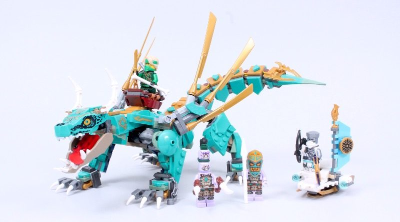 LEGO NINJAGO 71746 Jungle Dragon Review Featured 800x445