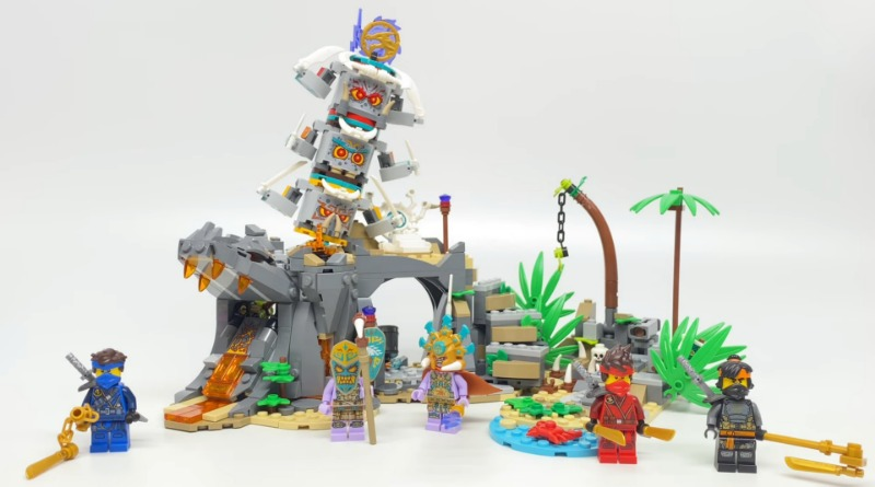 LEGO NINJAGO 71747 The Keepers Village YouTube Review Featured
