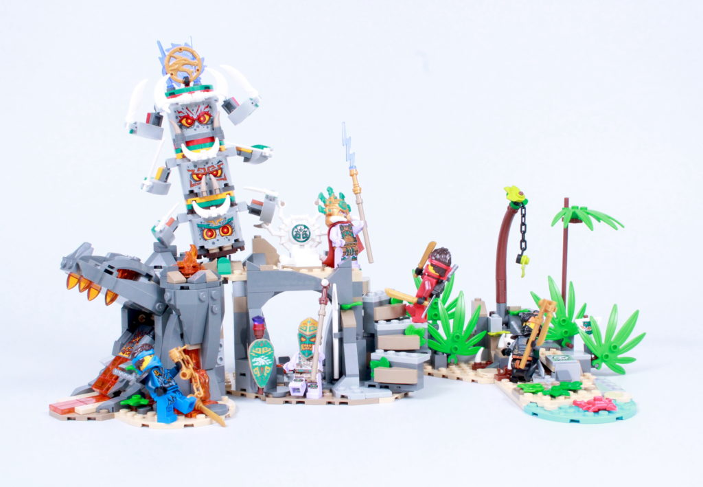 LEGO NINJAGO 71747 The Keepers Village Review 1