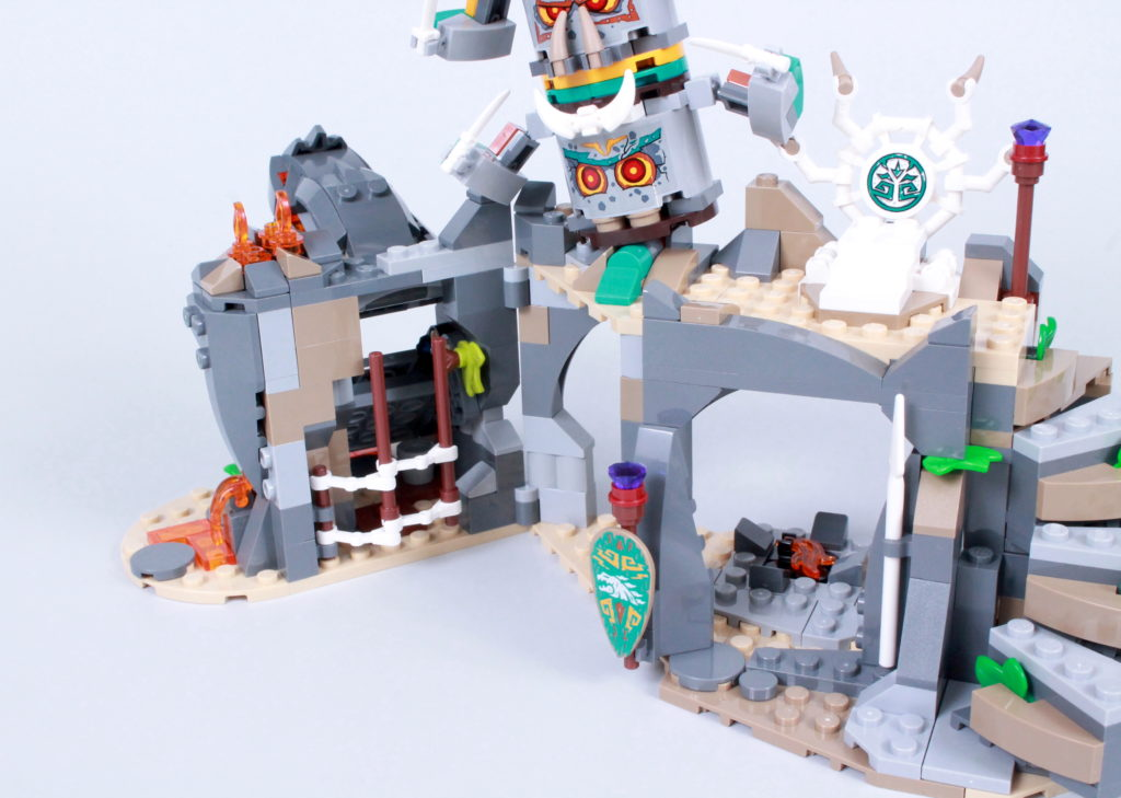 LEGO NINJAGO 71747 The Keepers Village Review 13