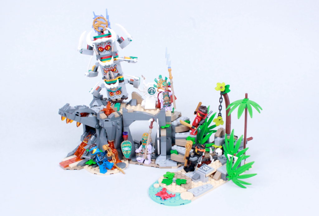 LEGO NINJAGO 71747 The Keepers Village Review 2