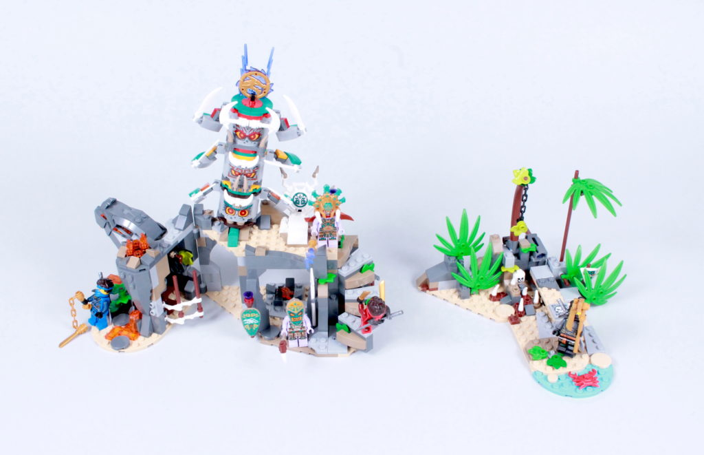 LEGO NINJAGO 71747 The Keepers Village Review 27