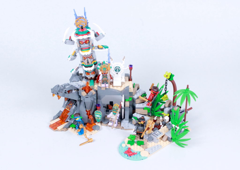 LEGO NINJAGO 71747 The Keepers Village Review 3
