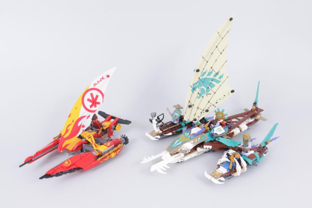 LEGO NINJAGO 71748 Catamaran Sea Battle Review 1