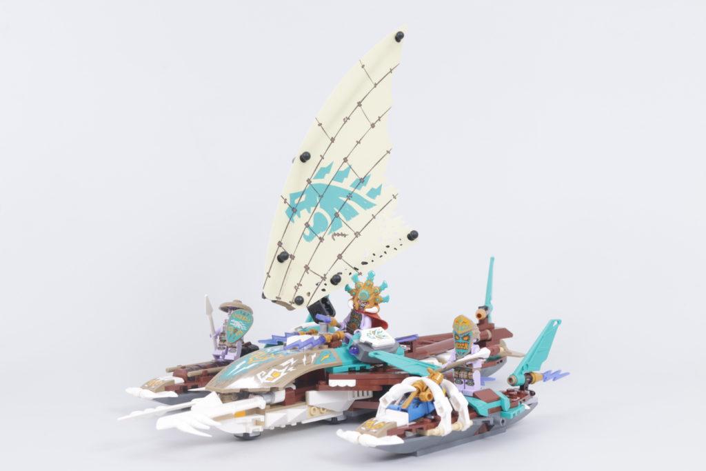 LEGO NINJAGO 71748 Catamaran Sea Battle Review 10