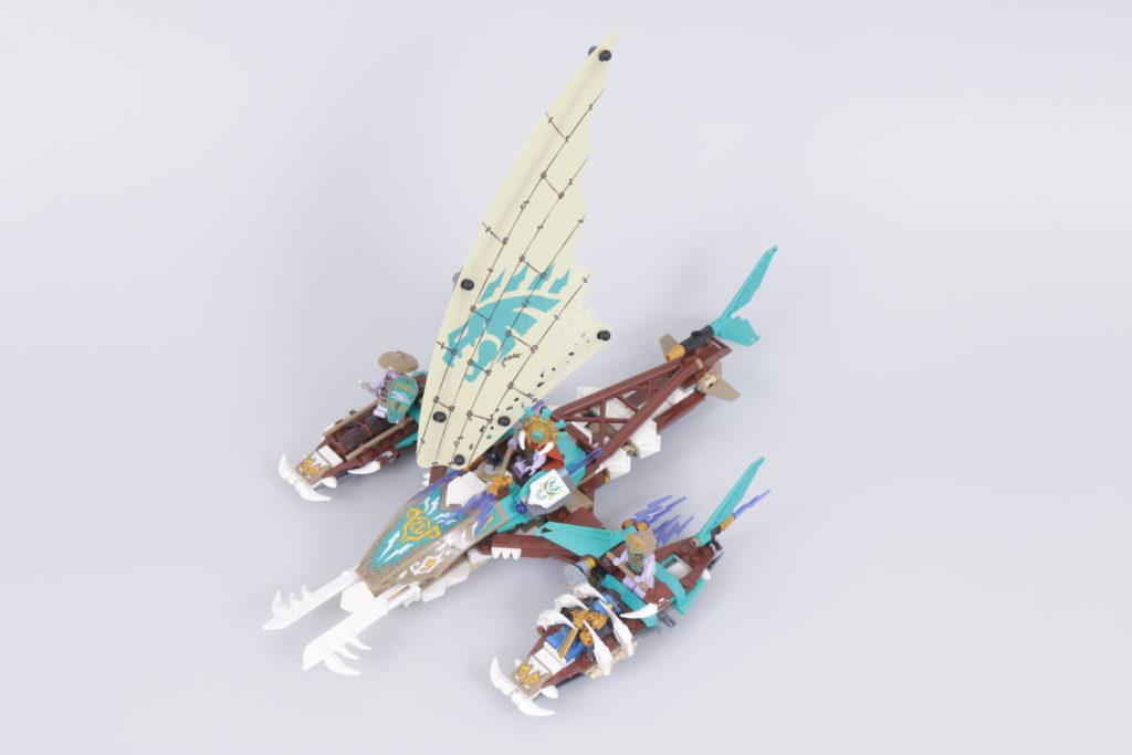 LEGO NINJAGO 71748 Catamaran Sea Battle Review 11