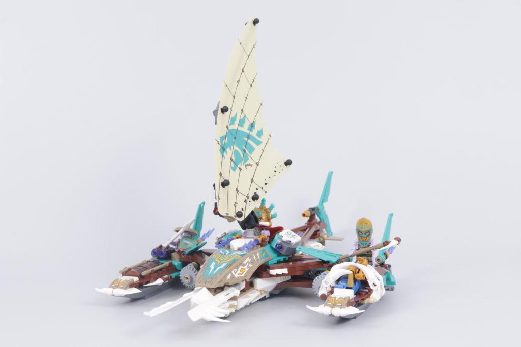 LEGO NINJAGO 71748 Catamaran Sea Battle Review 14