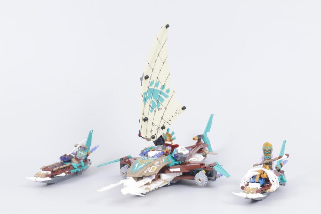 LEGO NINJAGO 71748 Catamaran Sea Battle Review 15