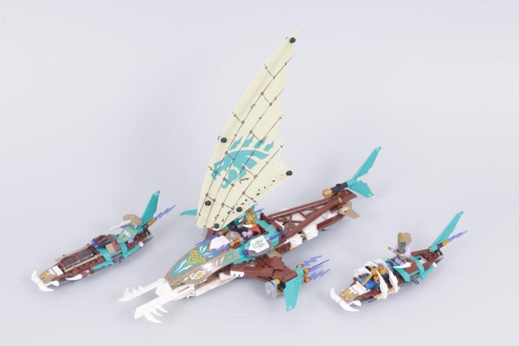 LEGO NINJAGO 71748 Catamaran Sea Battle Review 16