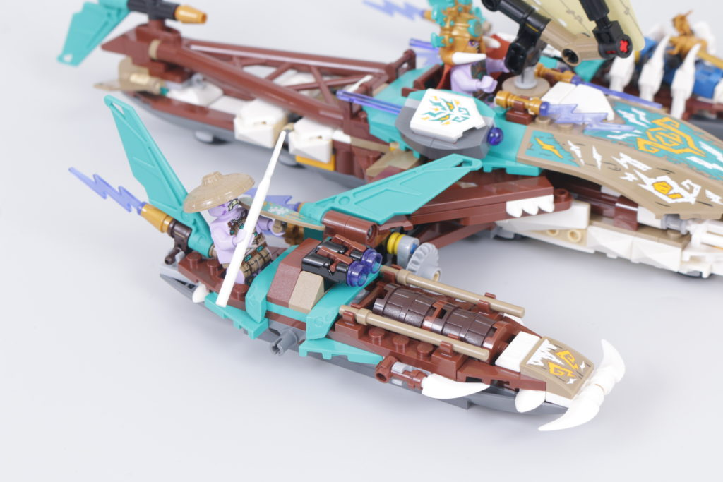 LEGO NINJAGO 71748 Catamaran Sea Battle Review 18