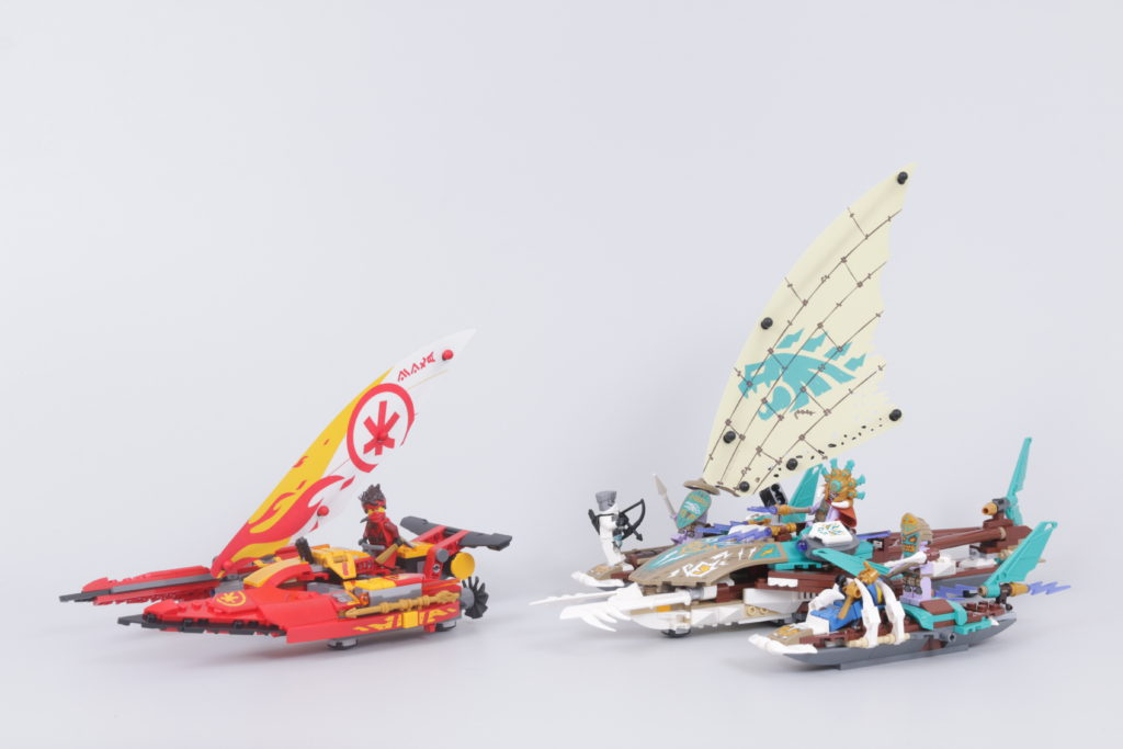 LEGO NINJAGO 71748 Catamaran Sea Battle Review 2