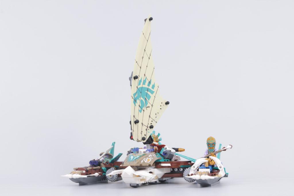 LEGO NINJAGO 71748 Catamaran Sea Battle Review 24