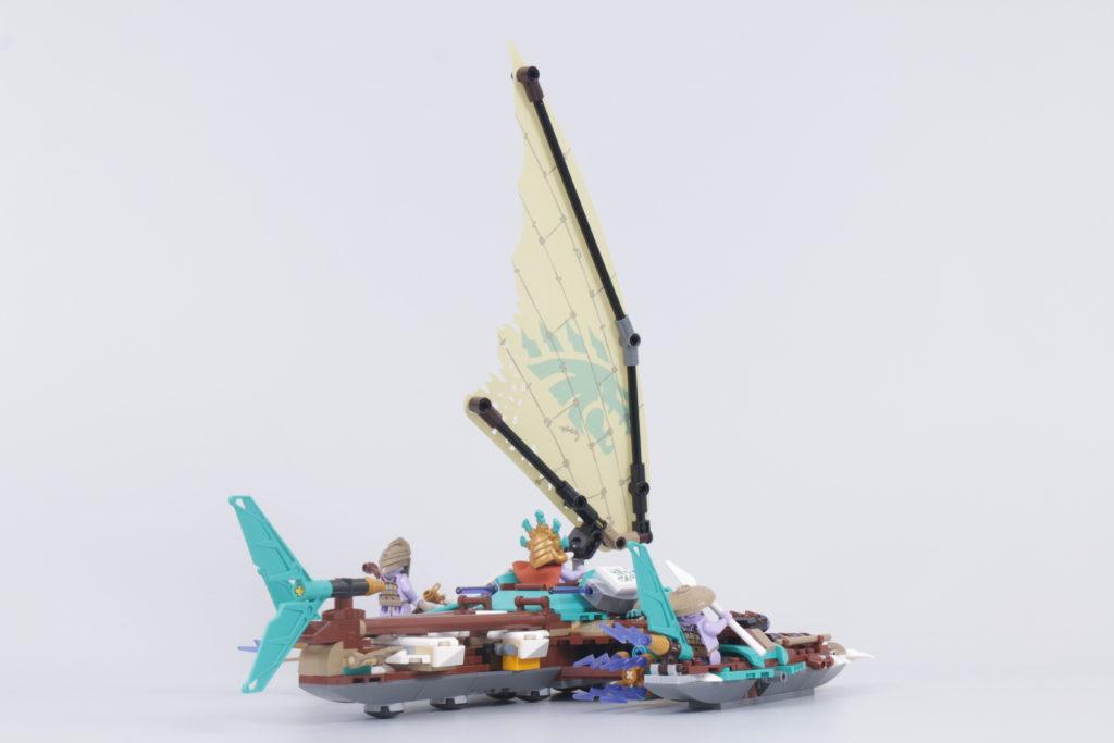 LEGO NINJAGO 71748 Catamaran Sea Battle Review 25