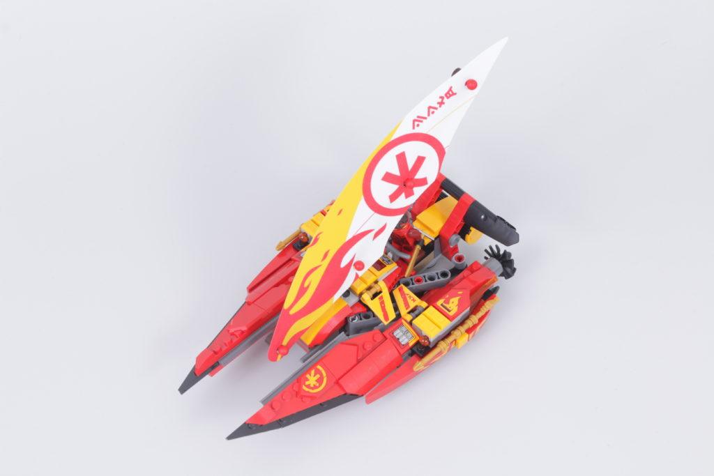 LEGO NINJAGO 71748 Catamaran Sea Battle Review 5