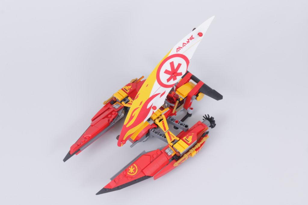 LEGO NINJAGO 71748 Catamaran Sea Battle Review 6