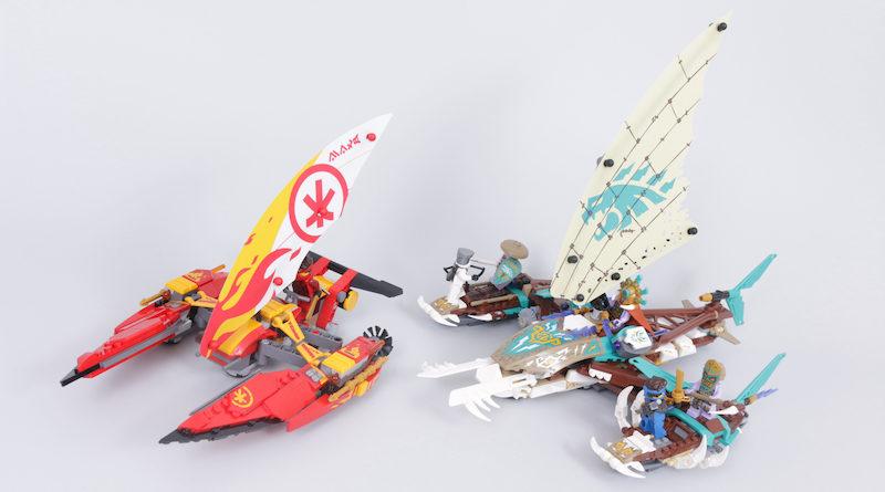 LEGO NINJAGO 71748 Catamaran Sea Battle Review Title 800x445
